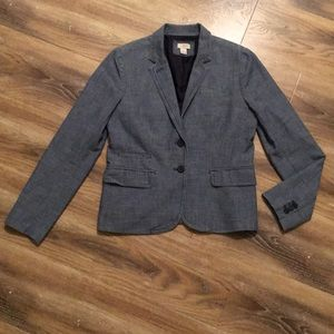 J Crew Factory Chambray Blazer
